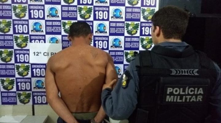 #Homem é preso por tentar estuprar grávida e se masturbar em público em MT