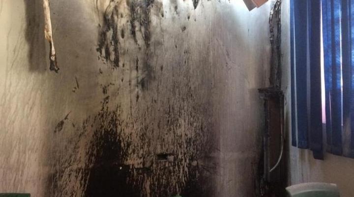 #Sala de universidade de MT é interditada após incêndio que começou no ar condicionado