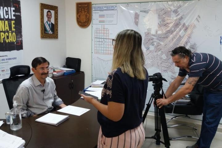 Prefeito confirma primeiro caso de Coronavírus em Tangará da Serra