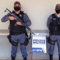 Dois homens de Juina foram presos pela patrulha rural acusados de furtarem 02 residências em Juara
