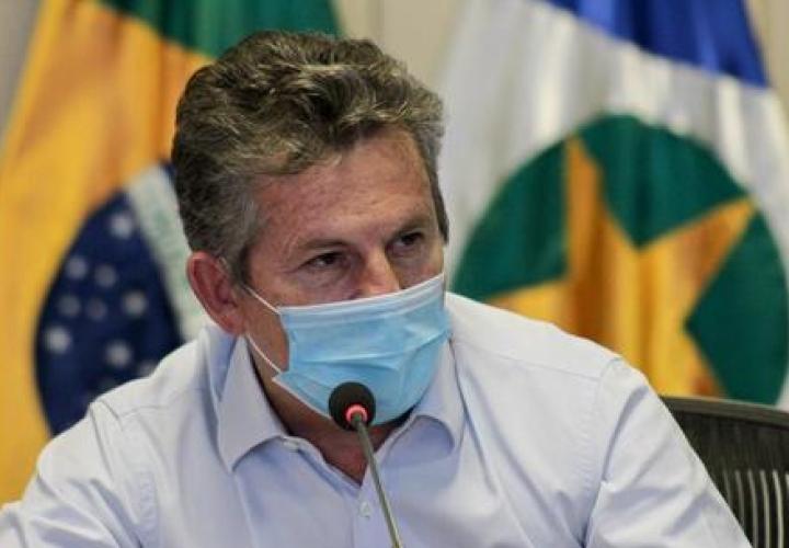 Governador do Mato Grosso é internado com pneumonia