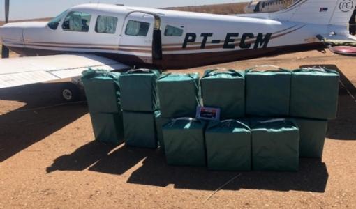Pilotos são presos pela FAB e PF com 450kg de cocaína em Rondonópolis