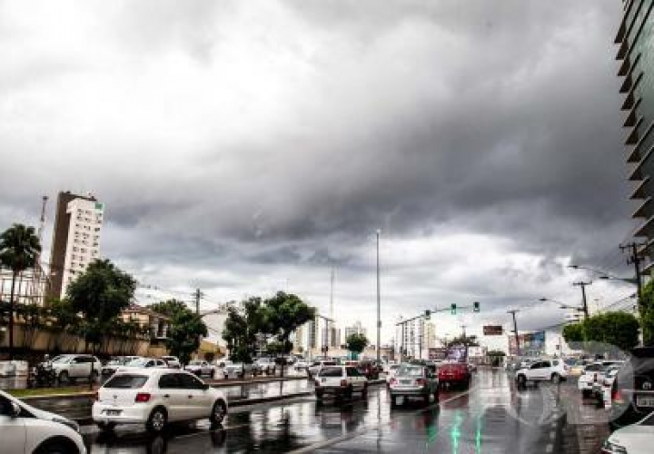 Fim de semana será chuvoso em todo Mato Grosso