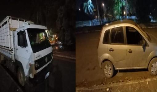 PM recupera caminhão com 22 cabeças de gado avaliada em R$ 50 mil