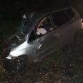 Batida entre ônibus  e Honda Fit mata motorista e deixa 1 ferido