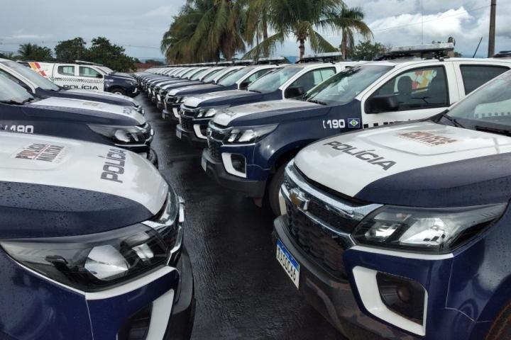 Governo de Mato Grosso entrega 250 viaturas nesta sexta-feira (22)