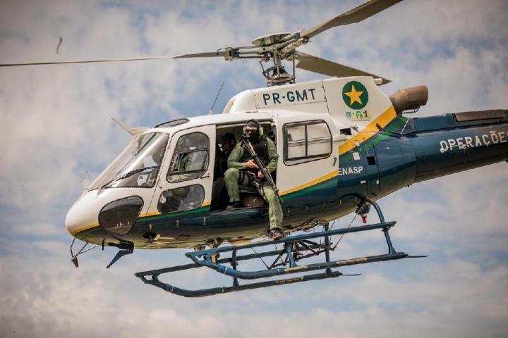 Governo de MT compra helicóptero para reforçar combate aos crimes ambientais