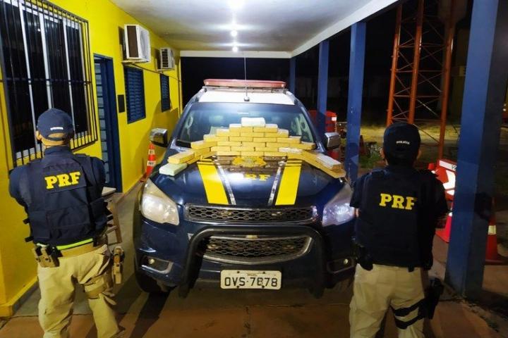 Homem é preso transportando carga de cocaína avaliada em R$ 3 milhões na BR-364