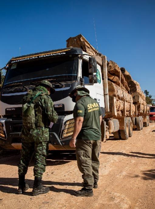 Operação Amazônia aplica R$ 938 mil em multas por desmatamento ilegal em sete propriedades de Marcelândia