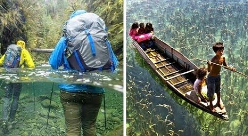 10 Lugares Maravilhosos. As Águas Mais Cristalinas do Planeta